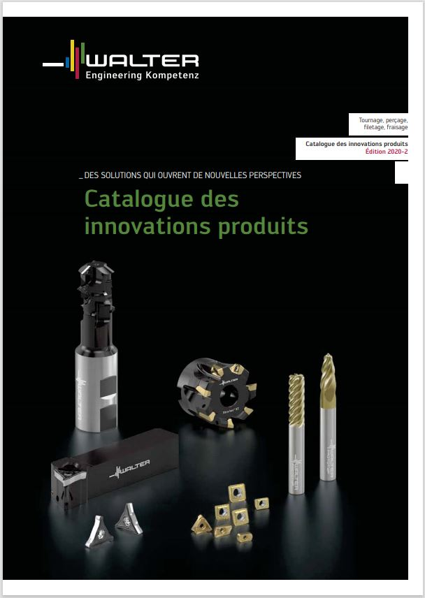 catalogue Walter innovation produit